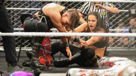 """NXT黑桃女王竟遭对手""""锁死"""",欧文斯助力切帕称霸战争游戏!"""