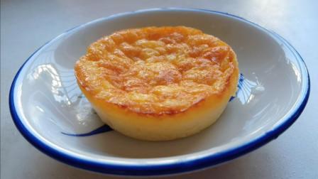 半熟芝士舒芙蕾乳酪蛋糕低糖做法详解,湿润绵密,入口即化,外面卖的味道,外加试吃测评