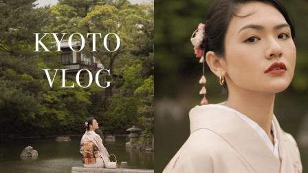 日本VLOG|5月的京都是牛油果的颜色|第一次尝试和服|像是去到了日剧里|MANTY