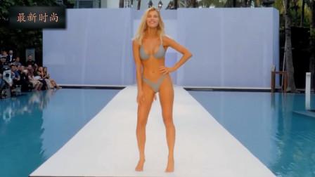 Kya BIKINI 迈阿密海滩泳装秀,超模灿烂的笑容,自信又迷人