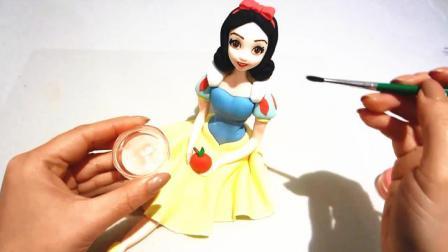 当女神被做成了蛋糕,太美了不舍得吃啊!#白雪公主#