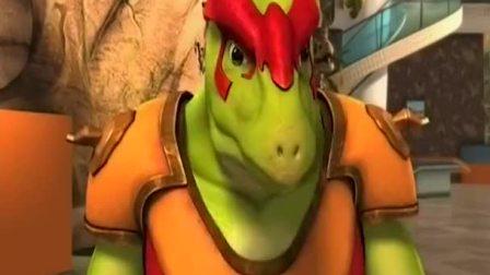 恐龙宝贝:恐龙成功变身,龙翔成功拿到图腾,恐龙追赶他想拿图腾