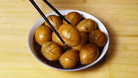 小韩妈妈教你秘制五香茶蛋,做法简单,味道鲜美,营养又好吃
