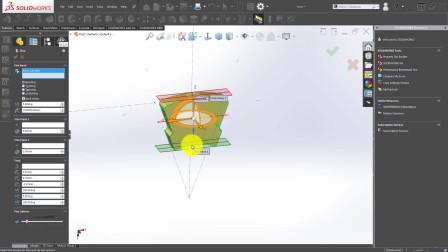 solidworks建模教程#15 外锯齿锁紧垫圈 免费完整视频教程