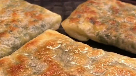 韭菜盒子新做法,手不沾面,60秒出锅,薄皮大馅,比卖的还香!