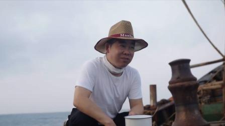好惬意!吹着海风吃水煮菜,这种快乐只有渔民能懂