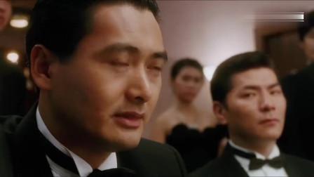 电影:赌神霸气梭哈2600万!赌王4张Q很嚣张, 赌神直接开出4张A