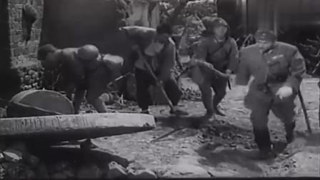 平原游击队:鬼子在村里疯狂乱挖,敌军西庄炮楼,