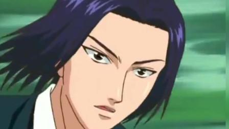 网球王子:龙马被对手设计,陷入怪圈,手一麻一麻的!
