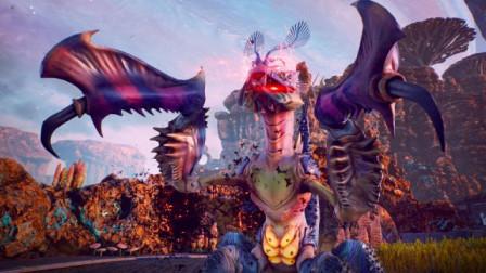 【逍遥小枫】星光湾里的巨型螳螂兽女皇! | 天外世界#8