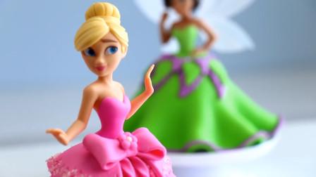 这样做蛋糕太好玩了!各种小猪佩奇公主都能做翻糖造型,太漂亮了