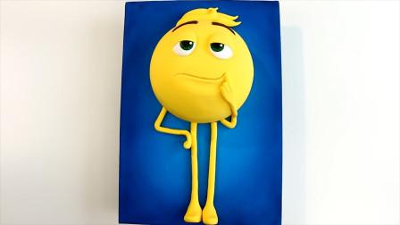 难道这才是蛋糕创意新玩法?做成孩子喜欢的MM豆表情包,好吃好玩
