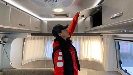 女司机为了长期旅行,床车换成房车,这些升级设备太实用了!
