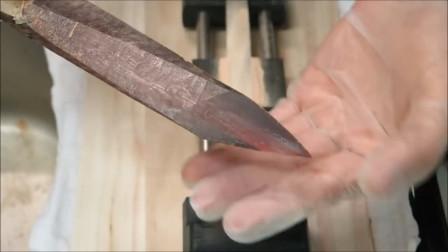 世界上最坚硬的鱼,晒干后能打磨做成刀,吹毛断发很轻松