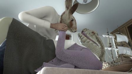 蛇夫人因被野猪家暴,移情别恋兔子,还和情人一起密谋干掉丈夫