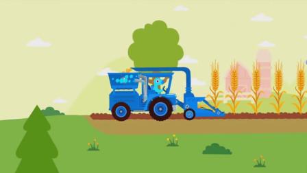 恐龙农场高科技,上天开飞机,下地开耕种车!侏罗纪恐龙游戏