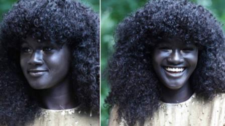 """世界上最黑的女孩,全身上下都是黑的,被人称为""""黑炭"""""""