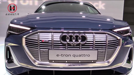 2020款奥迪 e-Tron——外观和内饰全方位鉴赏