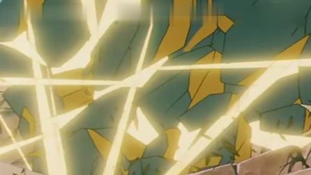 圣斗士:生命之柱开始撕裂,波塞顿:身为人类的天马座,怎能在神面前!