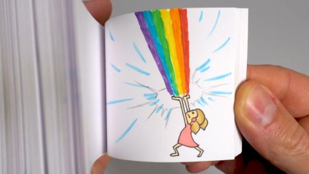 手绘翻页动画书,每本都是一个有趣的小故事!