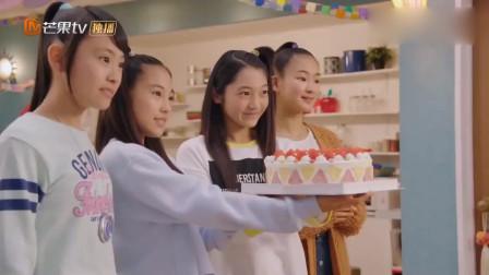 日版舞法天女:朋友们给小女孩准备生日蛋糕,她还不知道自己生日