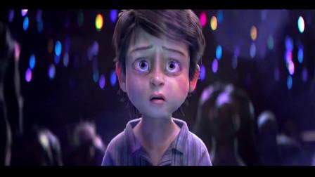 黑色幽默动画,这小孩到底是谁?为何怪物见他都低头躲开!
