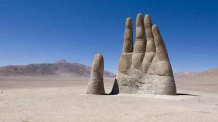 """世界上有个建筑很像""""五指山"""",隐藏在沙漠中,你知道在哪吗?"""
