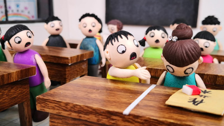 臭蛋刚和小月和好,却又被老师误会,换成是你你会怎么做