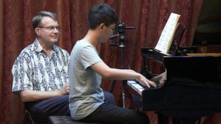 钢琴大师课(51上) 上课曲目《贝多芬 降B大调Op.22第一乐章》
