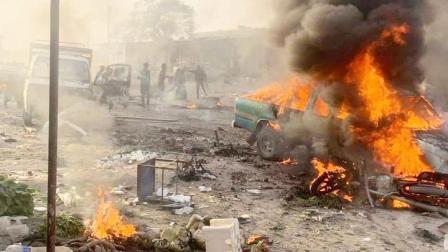 库尔德引爆汽车炸弹,土叙边境40人当场倒下,埃尔多安下达战书