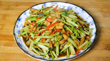 吃了30多年芹菜,还是这种做法最好吃,营养下饭,我家一周吃三次