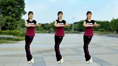 中老年瘦腰广场舞《健身操》每天坚持跳,不知不觉腰细了