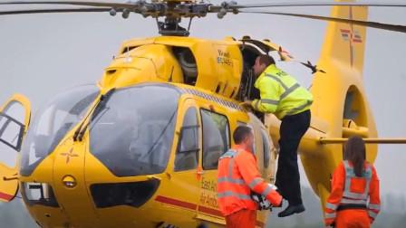 好险!疑似威廉王子常驾驶的直升机差点与无人机相撞