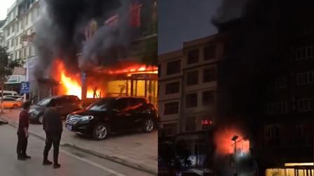 云南文山一汽车装饰店起火 4岁男童不幸遇难