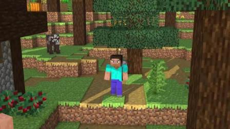 我的世界动画-拯救树木-Redstone Generations