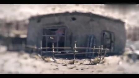 坦克上的重机枪有多猛摧毁一座房子毫不费力
