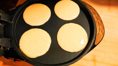 酸奶玉米饼这样做太香了,儿子三天两头点名吃,比铜锣烧都好吃