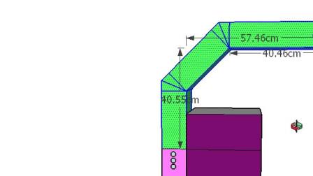 Ti桥架弯头制作书之下翻弯头和上翻弯头精确计算