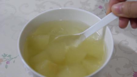 清炖冰糖雪梨做法,最简单的甜品,超润超美味