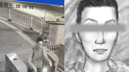 比监控还牛!研究生逆行撞人逃逸 警花模拟画像揪真凶