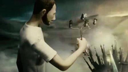 上帝造出人类,没想到最后却和人类同归于尽,一部意义非凡的短片