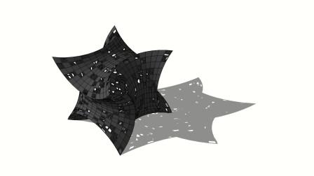 SketchUp方形雕塑建模思路