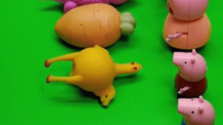 乔治玩腻了普通发泄球,他想要一个奶油发泄球,主人会做吗?