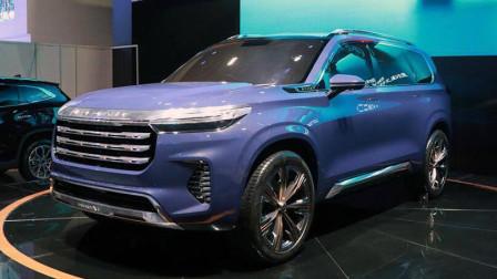 奇瑞4.9米旗舰SUV发布!风格硬朗比TX有气势,1.6T动力或成短板!