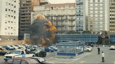 罪片《荒蛮故事》,爆破工程师的车被开罚单,直接把停车场炸了