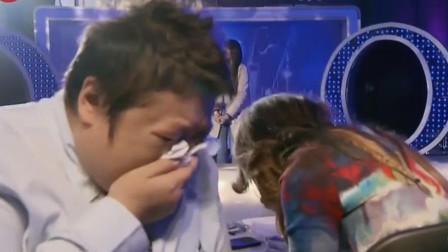 流浪歌手唱得太好了,一开口韩红、李玟失控痛哭,黄晓明也流泪