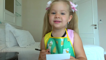 萌娃小可爱在制作新的食物!小家伙真是聪明呀!萌娃:意大利面冰激凌怎么样?