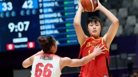 中国女篮又迎一健将,她球场狂砍27+6数据,男友是300斤CBA中锋