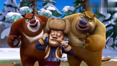 熊出沒一切都是李老板搞得鬼強哥故意毀壞機器人很聰明嘛