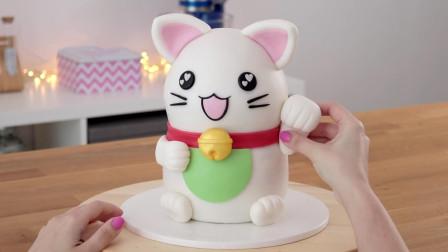 """这家甜品店靠""""招财猫""""蛋糕火了,好吃又招财运,难怪卖这么贵"""